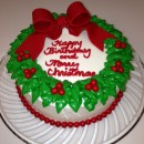 Coolest Wreath Cake with How-To Instructions