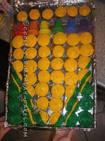 Coolest Crayon Box Birthday Cupcakes