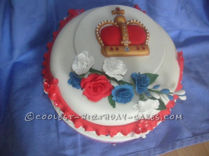 Coolest Diamond Jubilee Cake