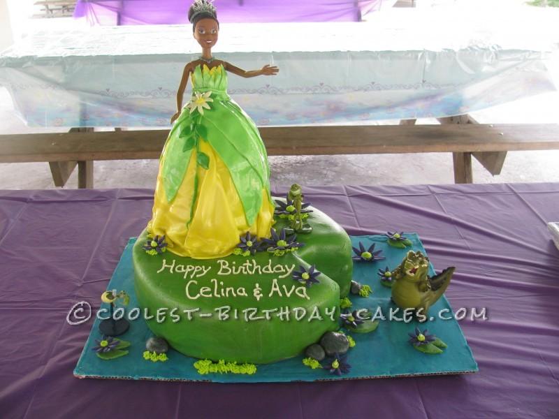 Disney Tiana and Friends Princess Cake