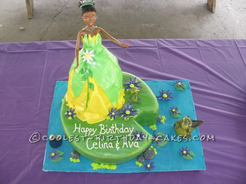 Disney Tiana and Friends Birthday Cake