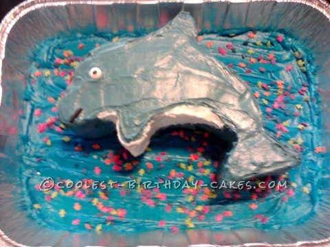 Coolest Dolphin Cake