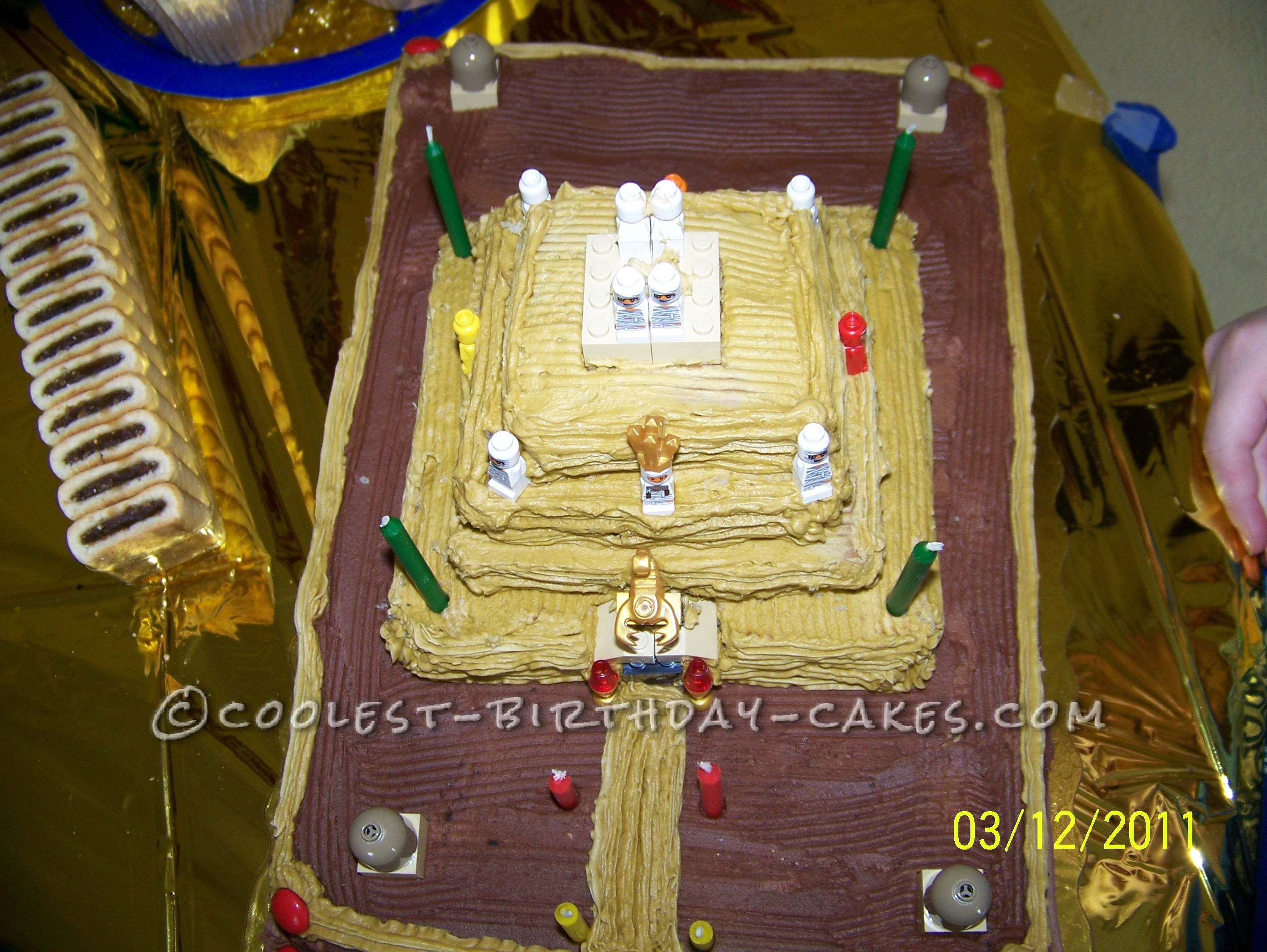 Egyptian Pyramid Birthday Cake
