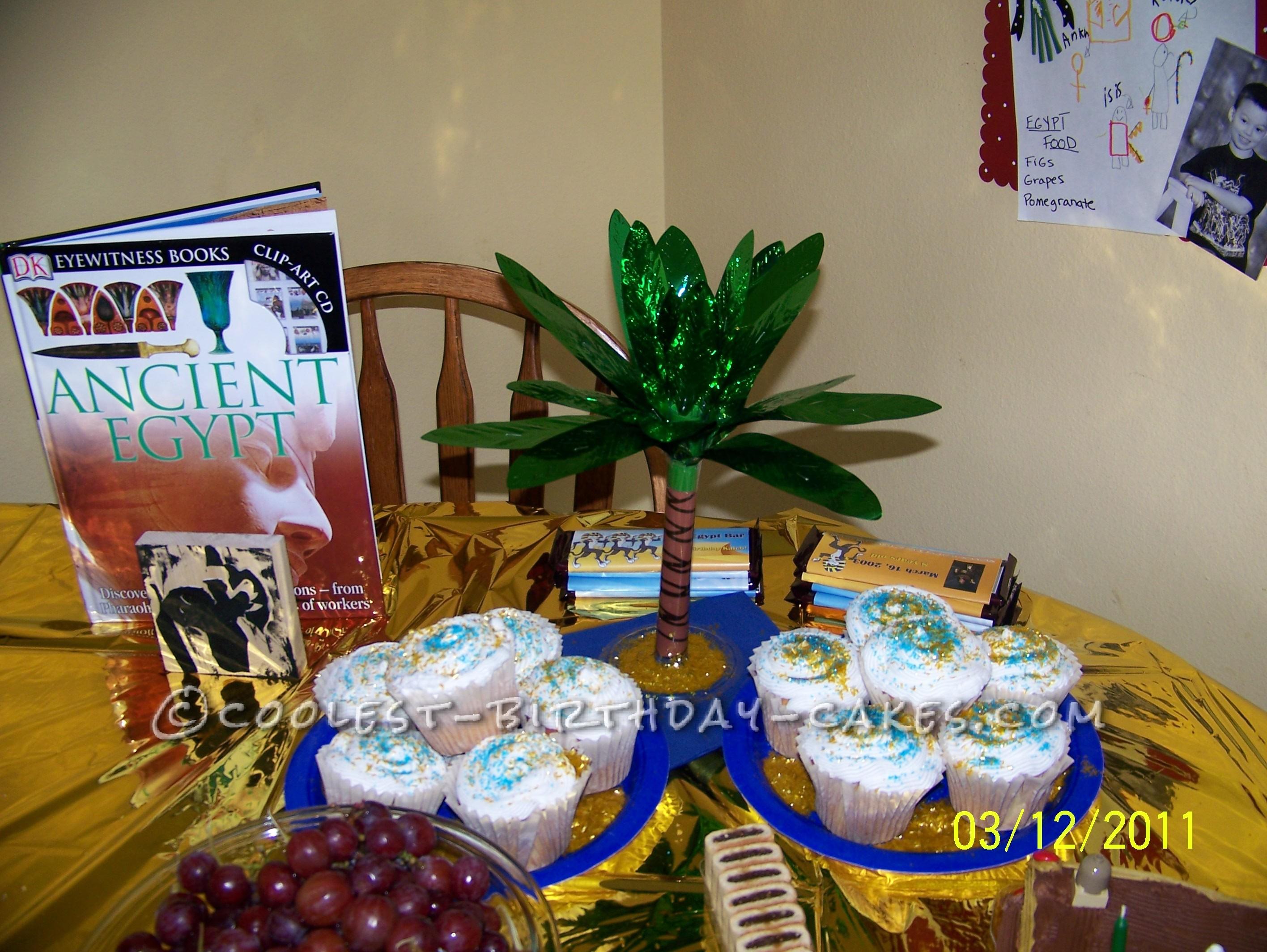 Stupendous Egyptian Pyramid Birthday Cake Funny Birthday Cards Online Necthendildamsfinfo