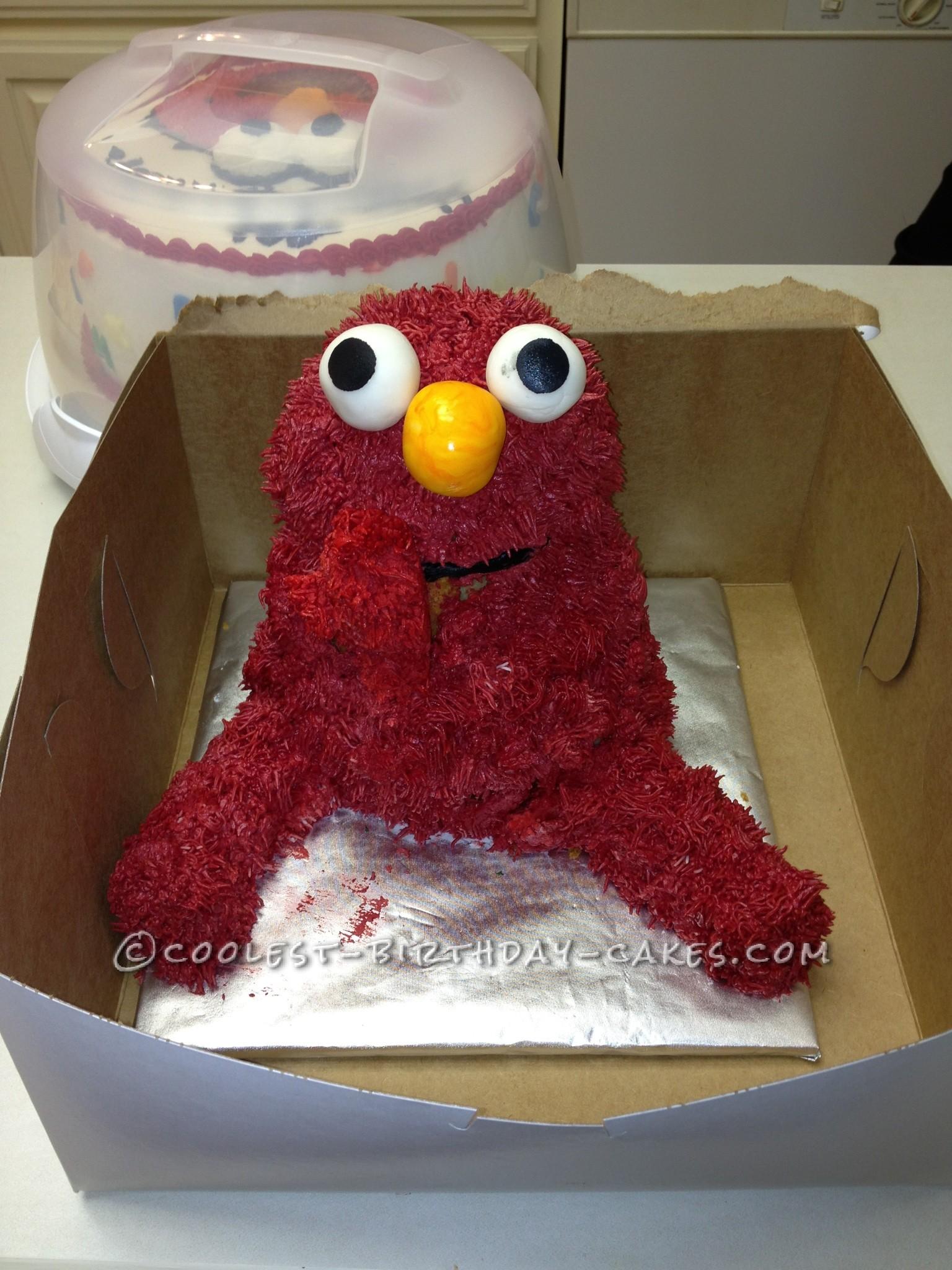 Coolest Elmo Birthday Cake