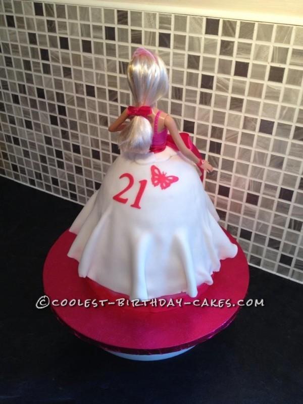 Forever Barbie Birthday Cake