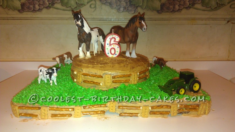 Gitty-Up Cowboy Cake