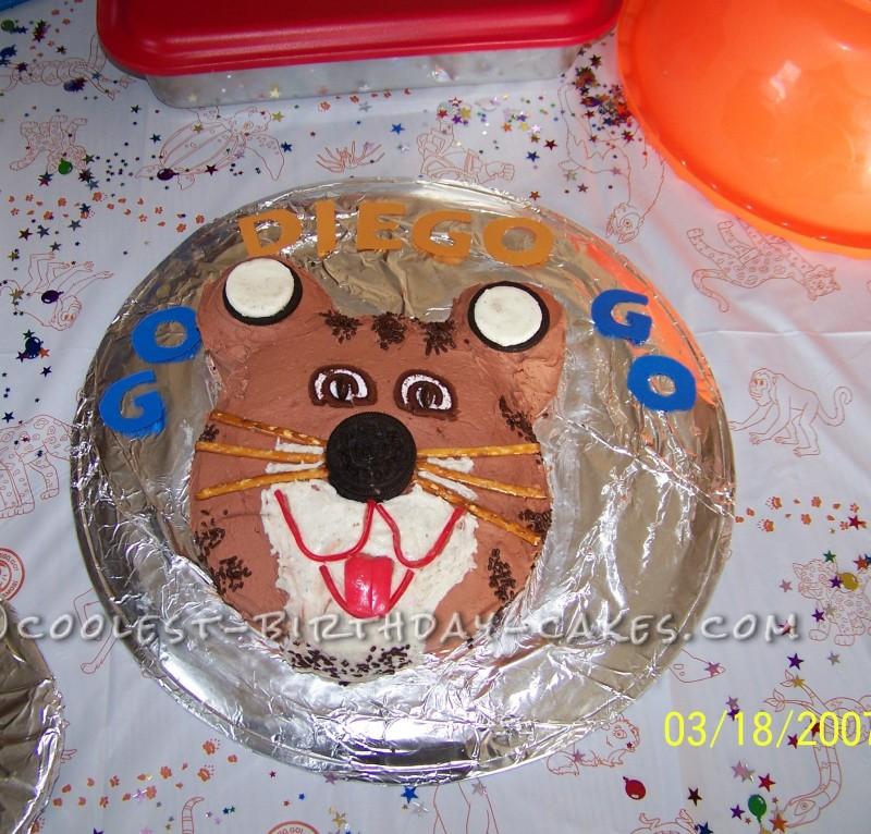 Go Diego Go Jaguar Birthday Cake