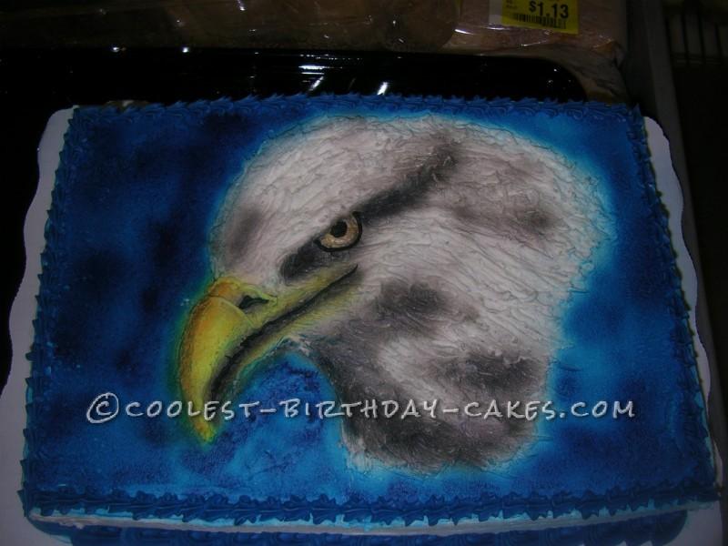 Daring Eagle Cake