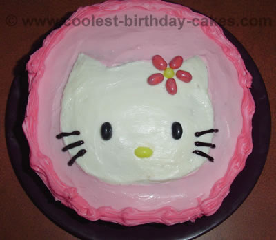 Hello Kitty Birthday Cake Photo