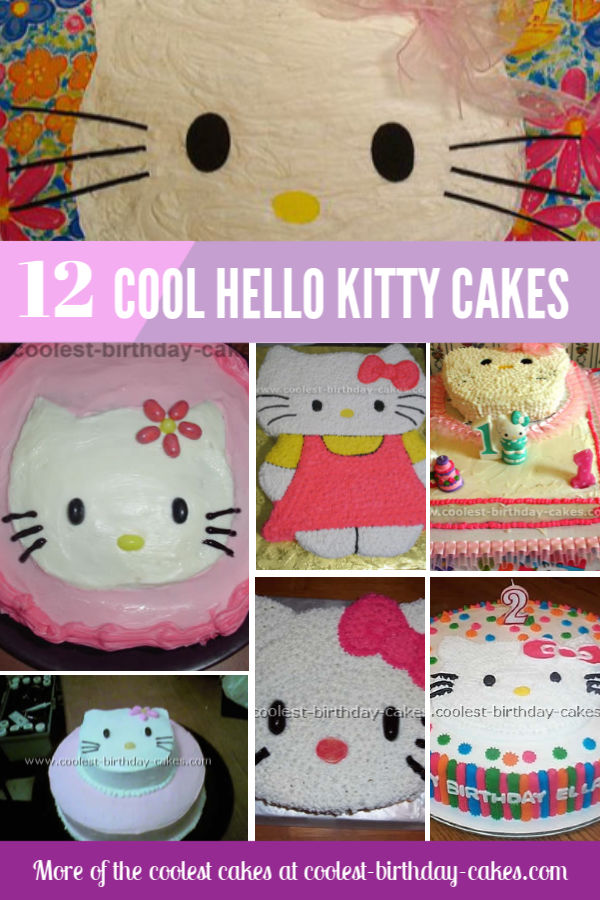 12 Cool And Easy Hello Kitty Birthday Cake Ideas