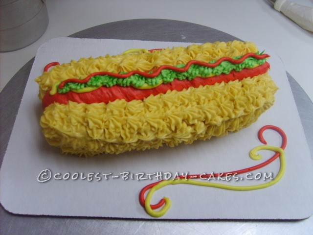Coolest Hot Dog Cake