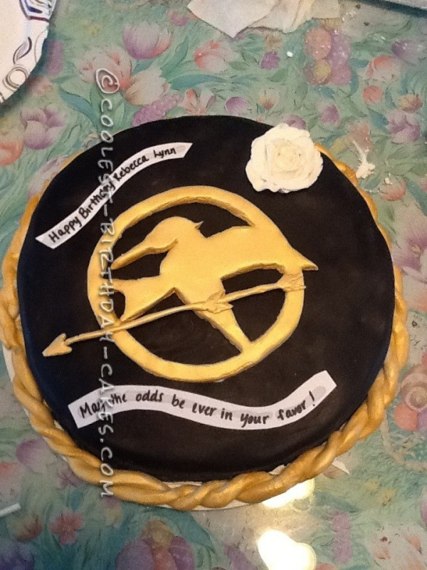 Coolest Hunger Games Cake