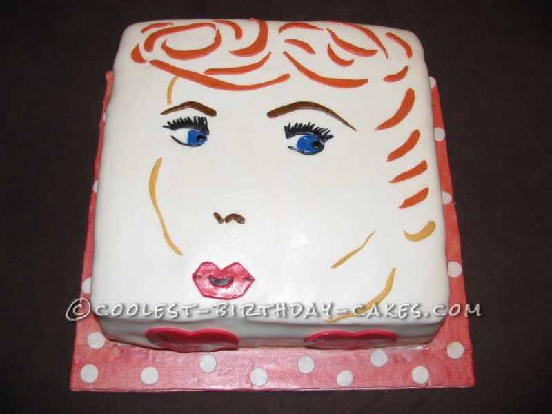 Coolest I Love Lucy Cake