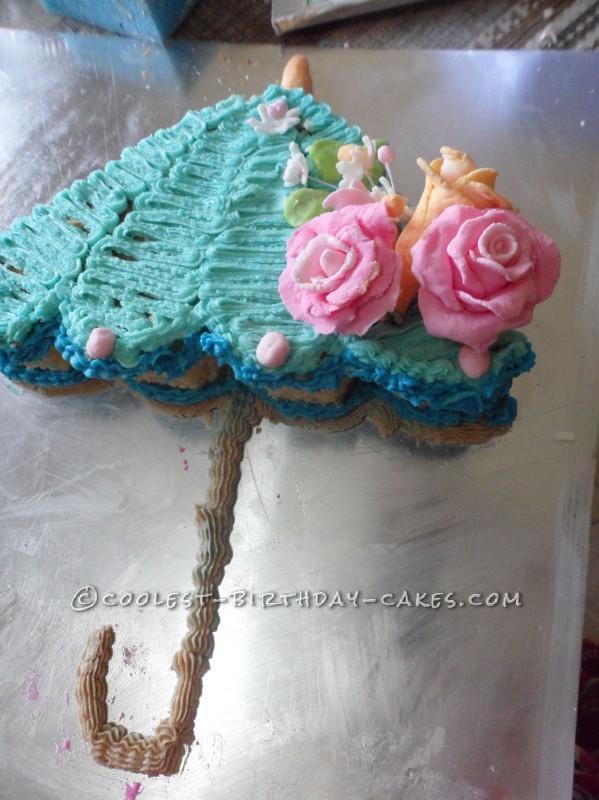 Cool Umbrella Birthday Cake