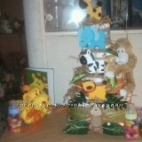 Junior's Jungle Diaper Cake Survived the Storm