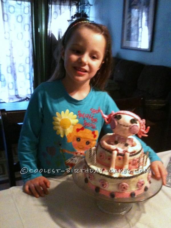 Coolest Lalaloopsy Birthday Cake