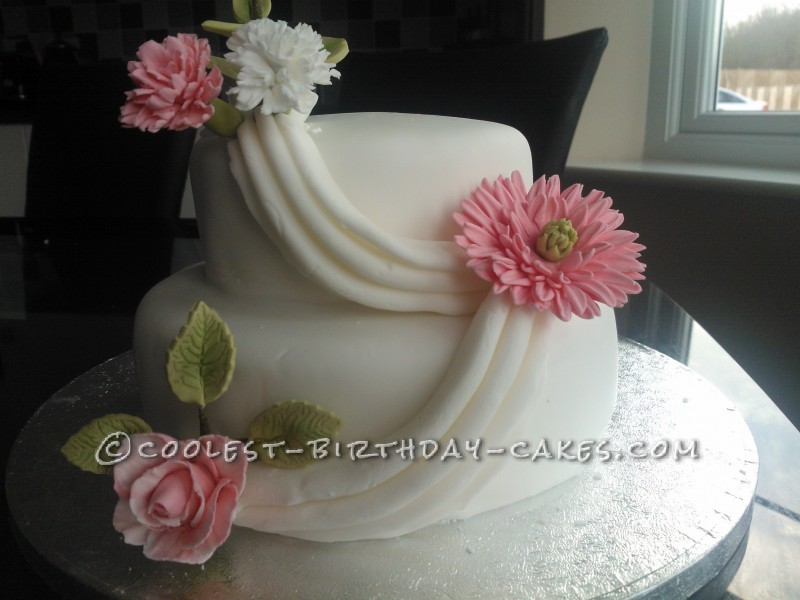 Lovely Flower Cake