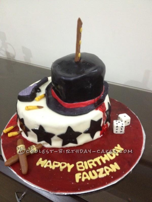 Coolest Mafia Birthday Cake