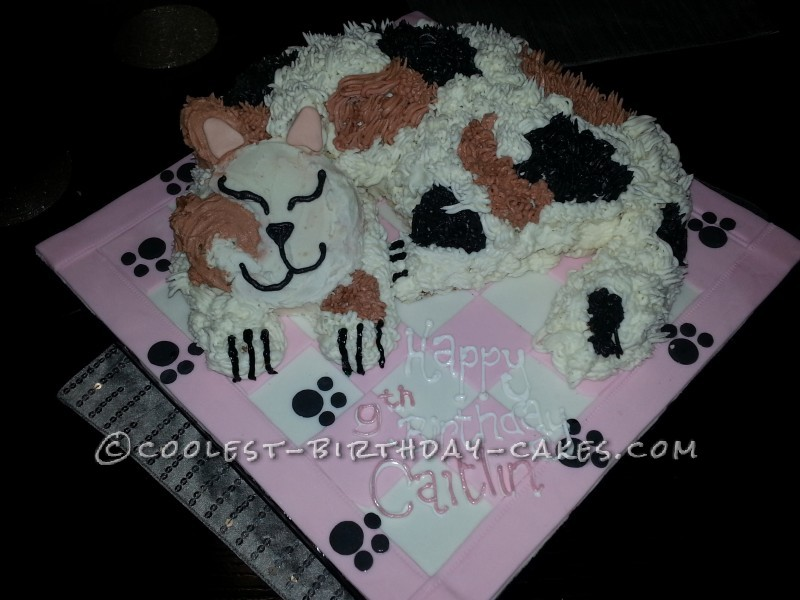 Coolest Novelty Cat Cake