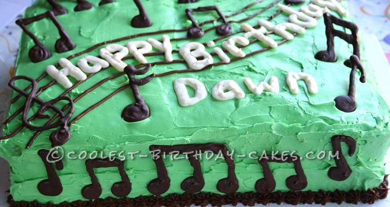 Coolest Music To Your Mouth Cake