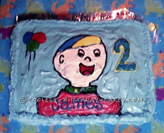 Magnificent My Caillou Fans Last Minute Birthday Cake Funny Birthday Cards Online Elaedamsfinfo