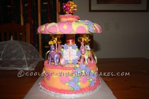 My Little Pony Merry-Go-Round Cake