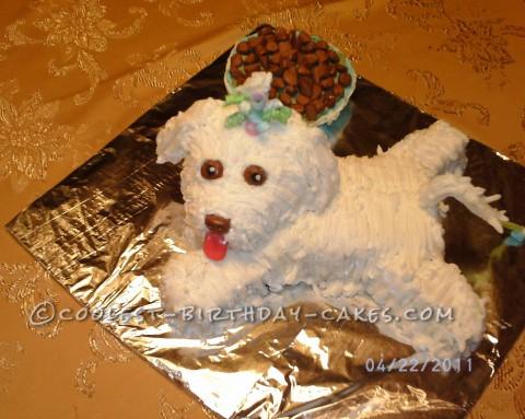 Coolest Pup Cake