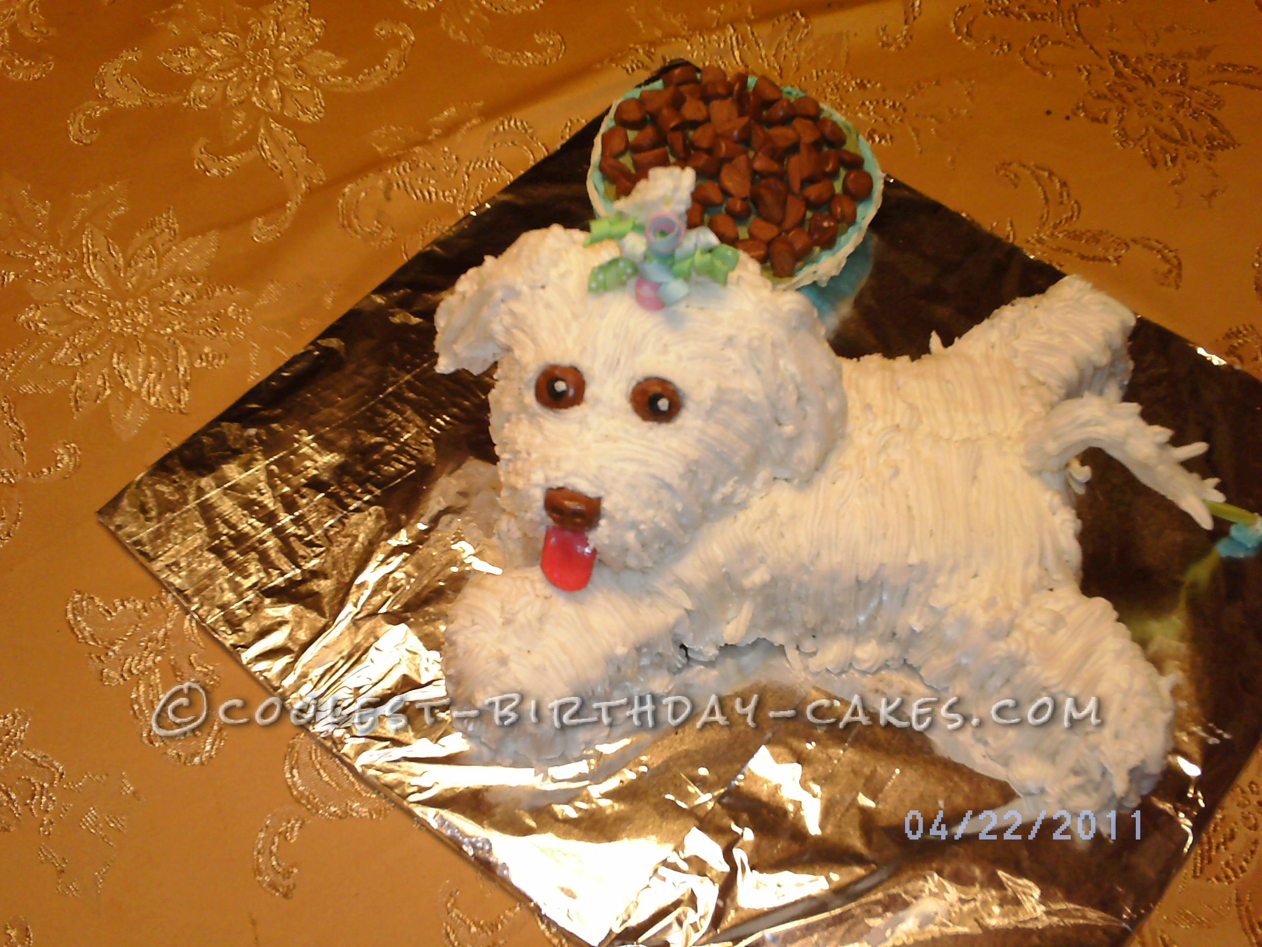 Coolest Pup Cake