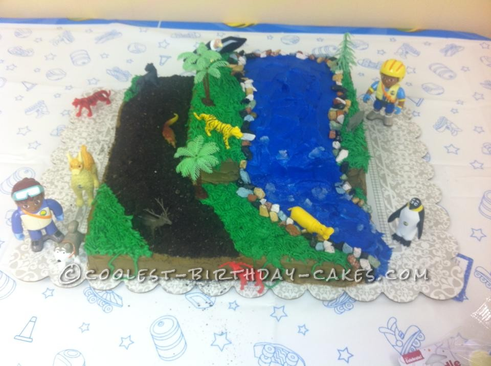 Coolest Diego Jungle Cake