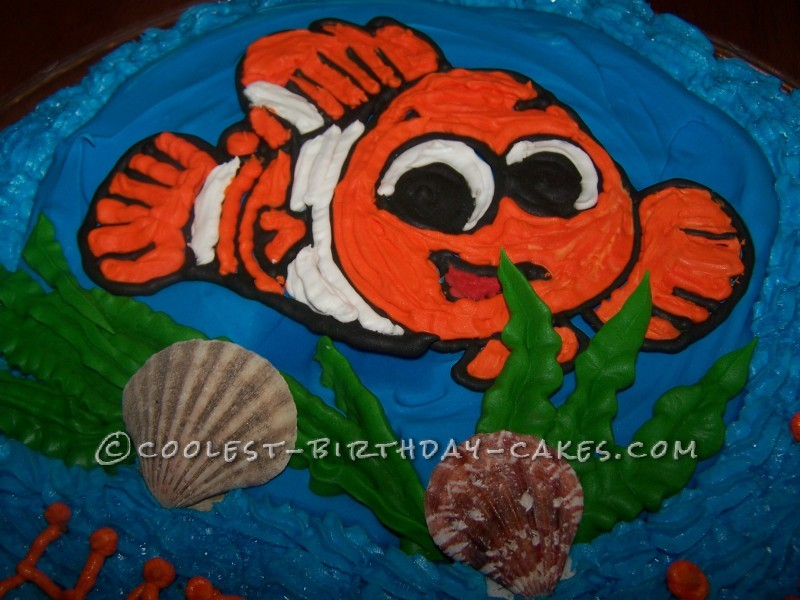Coolest Nemo Cake for a Little Girl