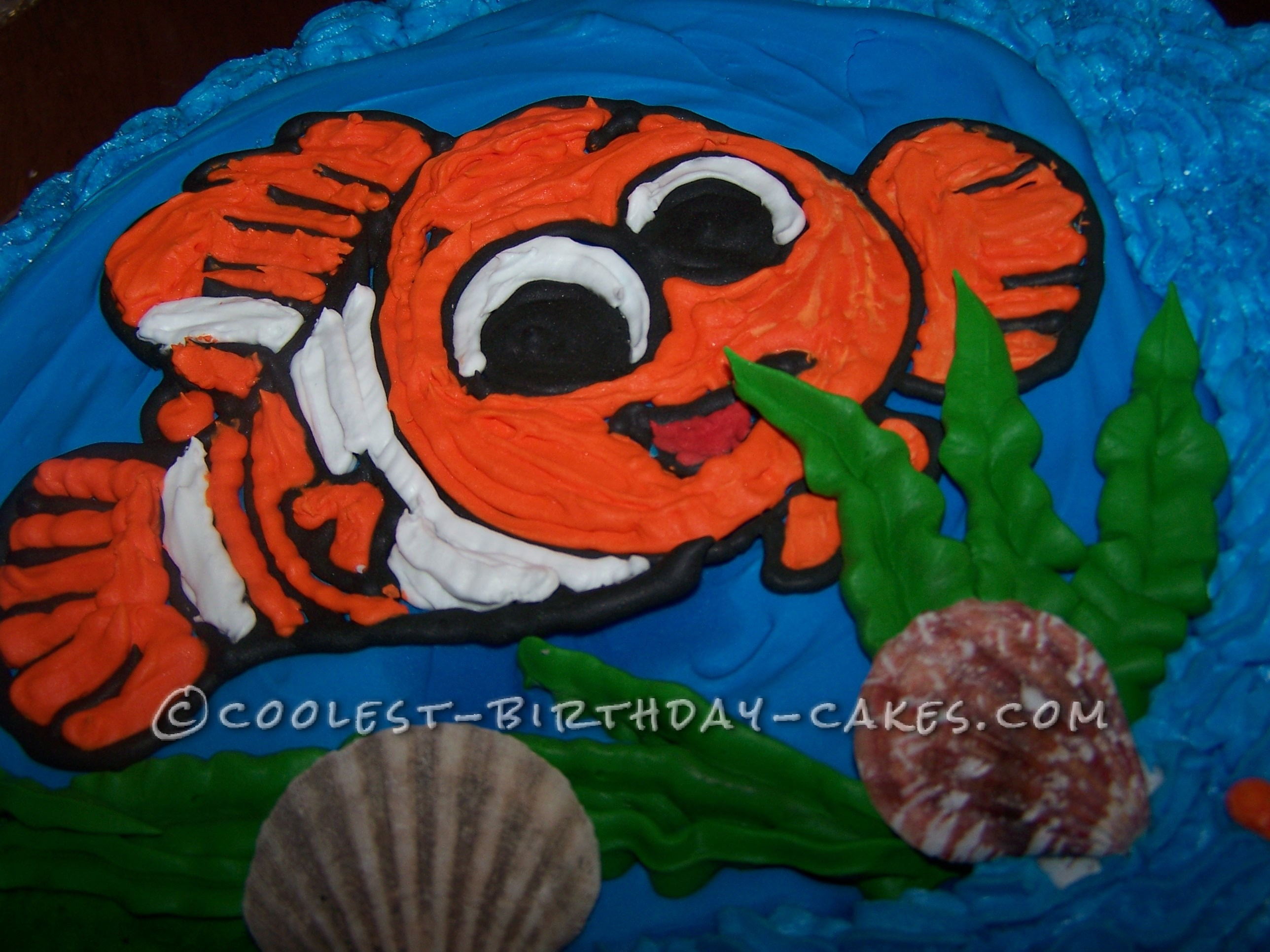 Coolest Nemo Cake for a Little Girl