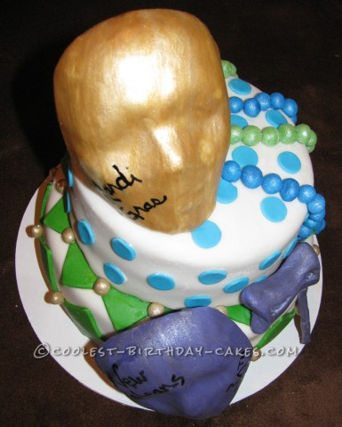 Original New Orleans 30th Birthday Cake