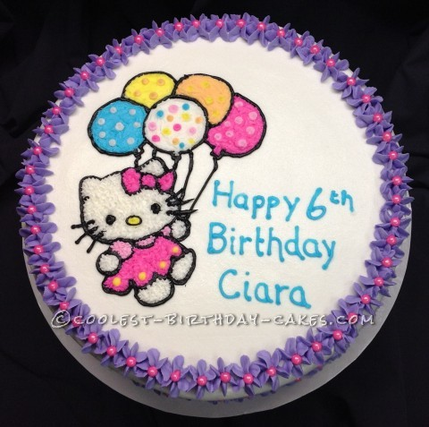 Coolest Hello Kitty Birthday Cake