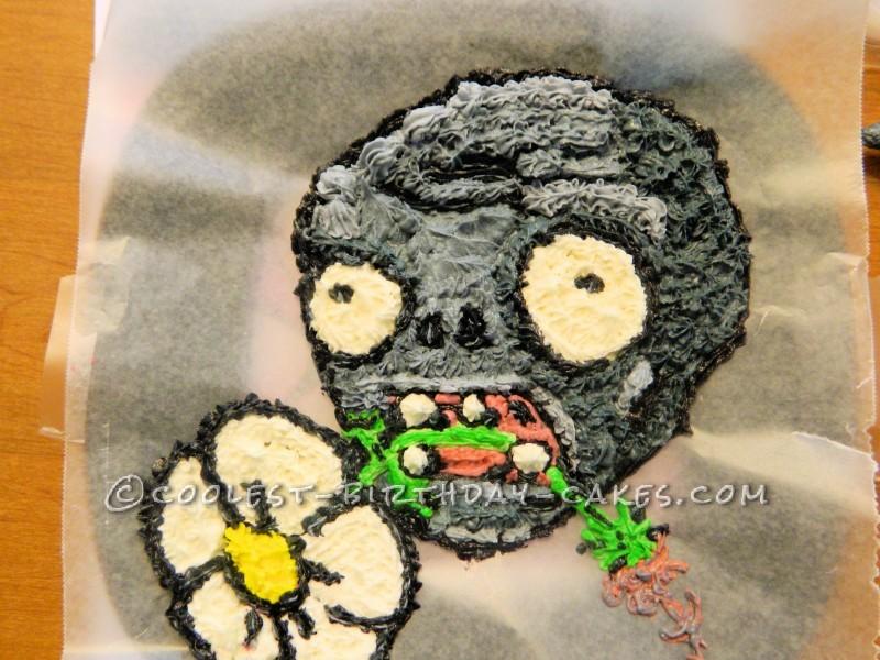 Cool plants vs zombies birthday cake 2