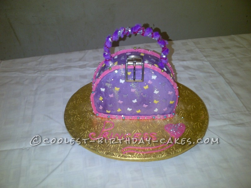 Prettiest Princess Handbag Cake