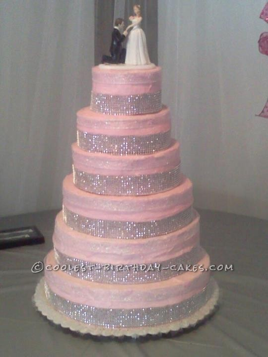 Pictures Of Wedding Cakes 72 Lovely Pink wedding cakes with