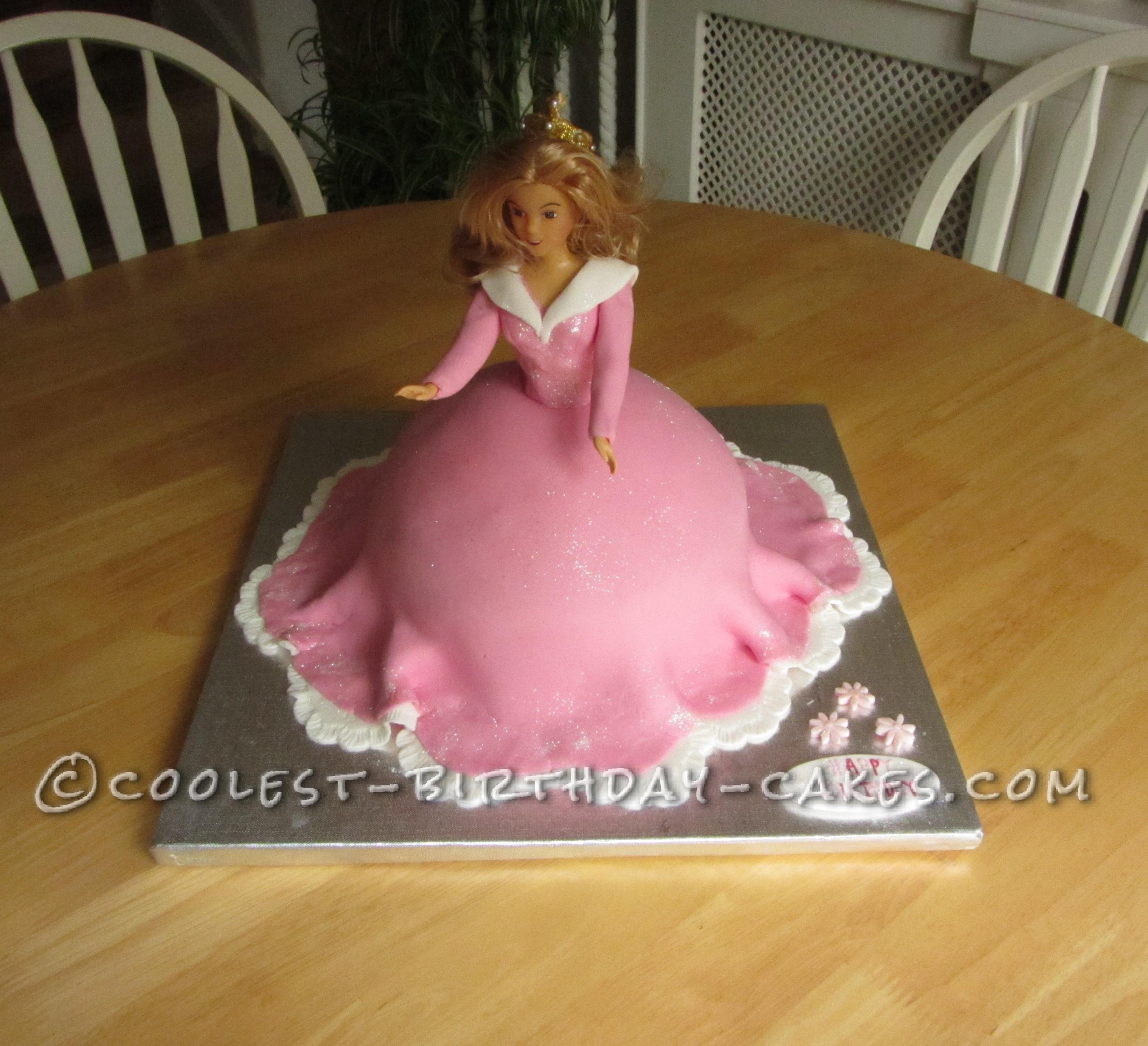 Coolest Princess Aurora Birthday Cake