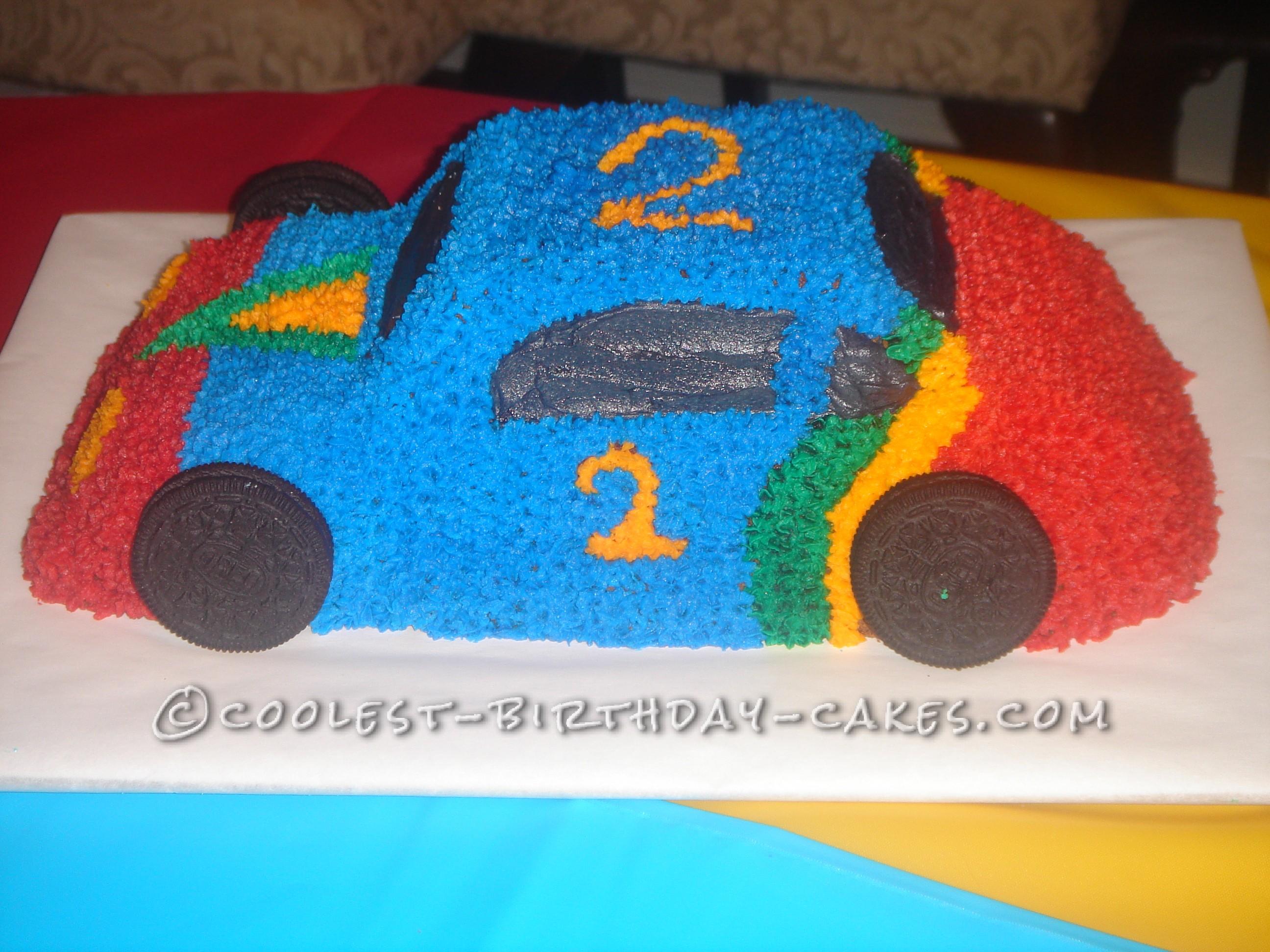 Coolest Race Car Cake