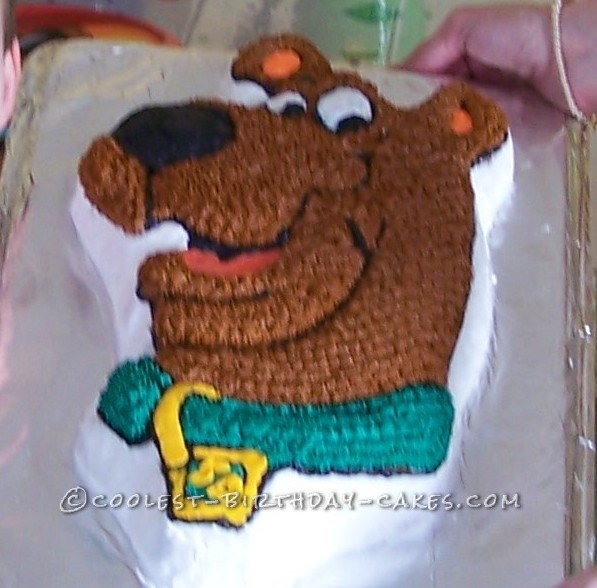 Scooby Party Cake with the Wilton Cake Pan