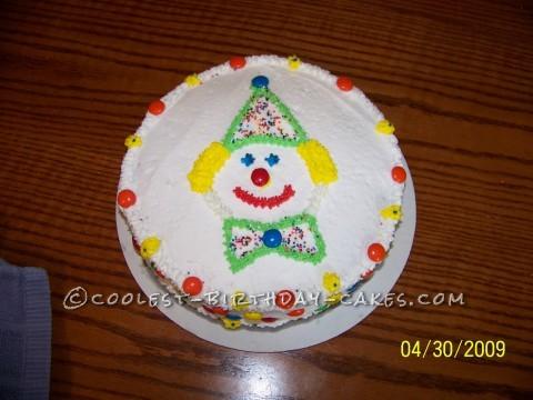 Simple Clown Cake