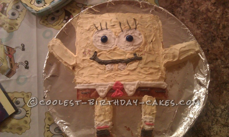 Coolest Sponge Bob and Patrick Birthday Cake