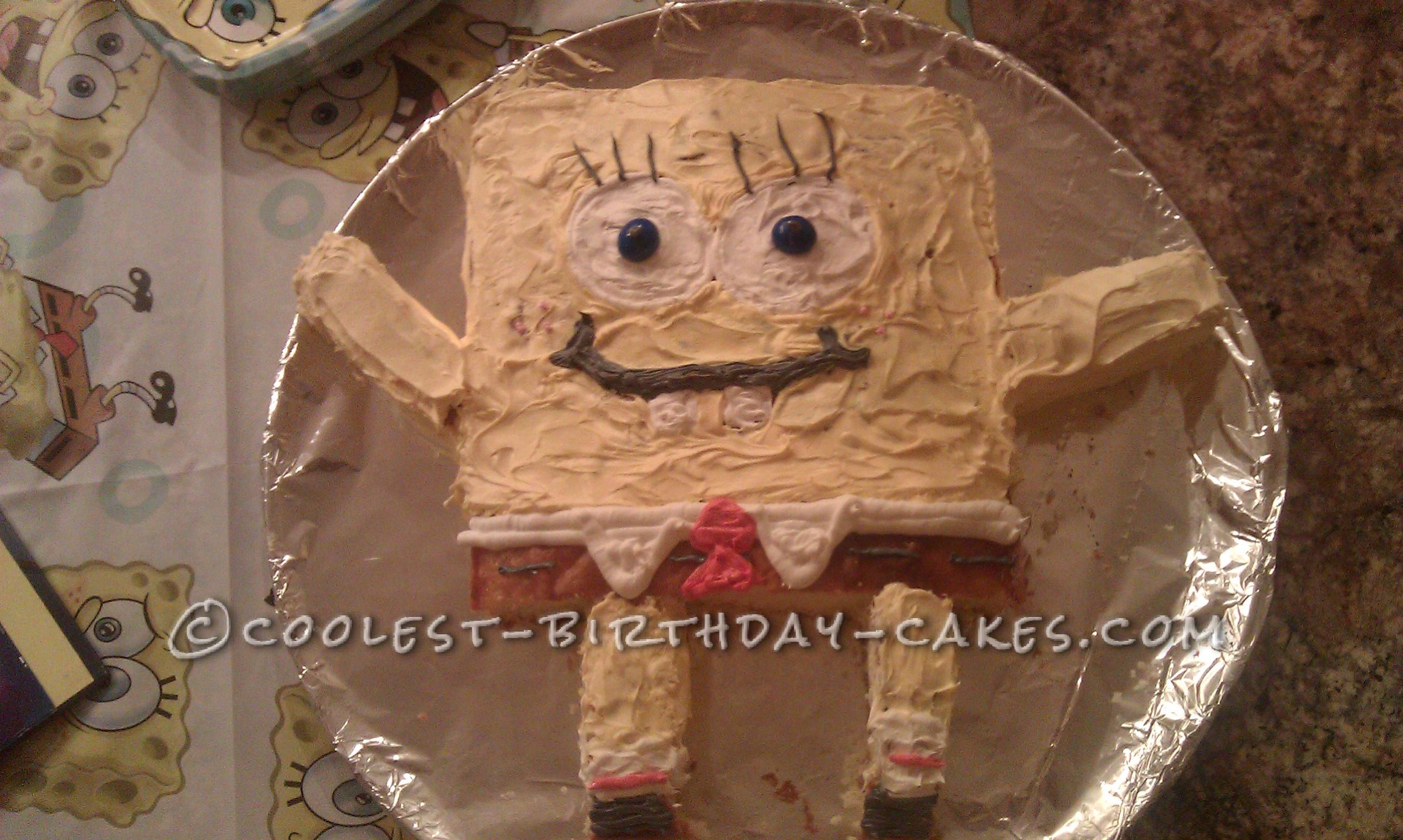Coolest Sponge Bob and Patrick Birthday Cake