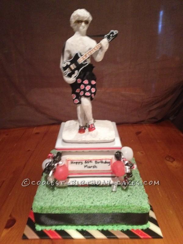 Statue of David Birthday Cake