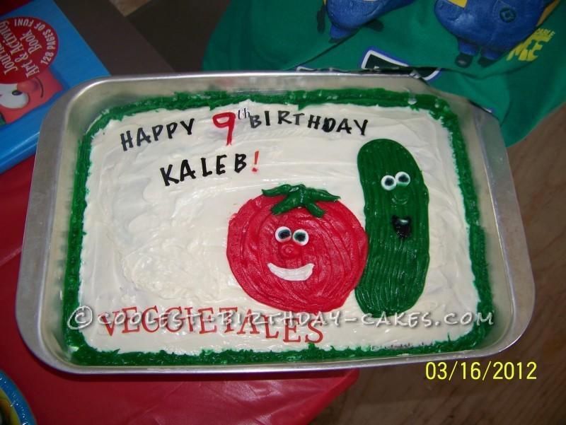 Super-Easy Veggie Tales Cake