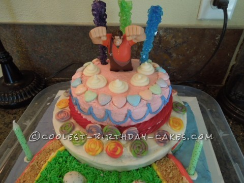 Super Sweet Wreck-It Ralph SugarRush cake