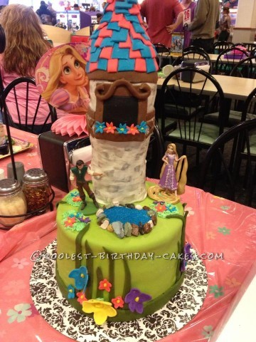 Coolest Tangled Birthday Cake