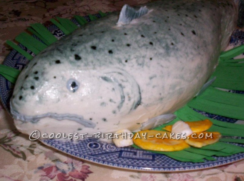 Cool Cake Idea: The Fish that Didn't Get Away