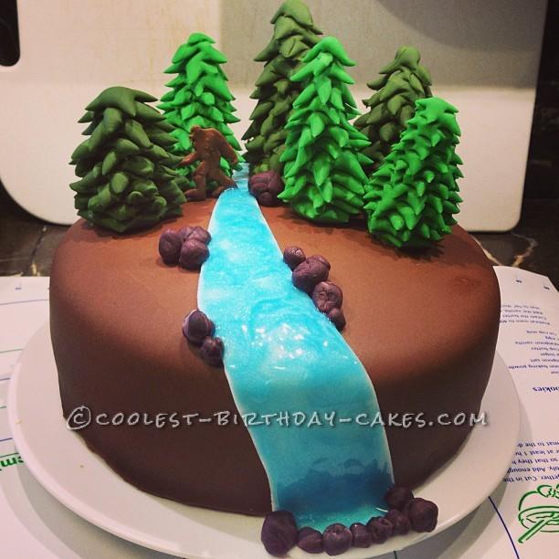 The Sasquatch Cake