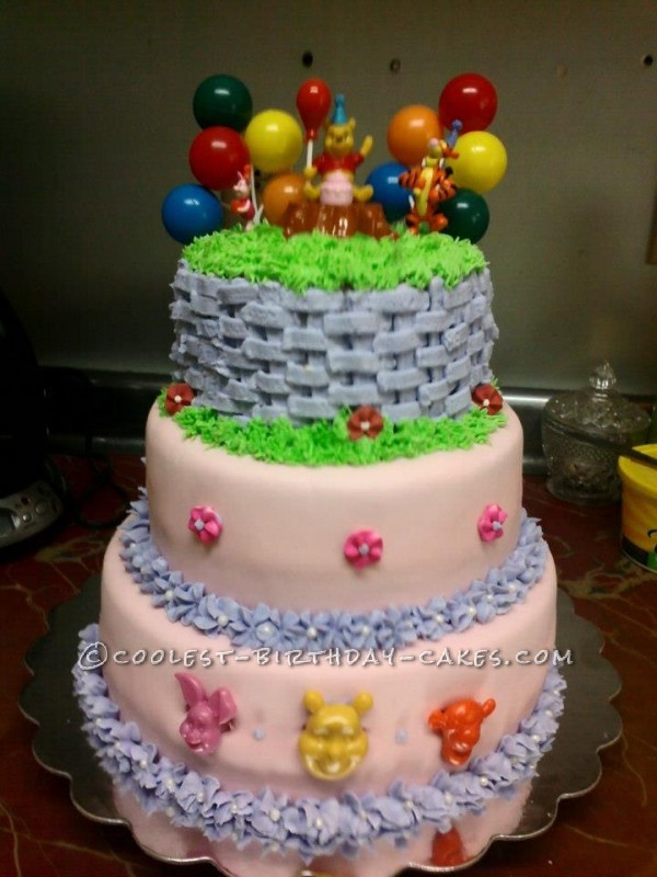 Winnie The Pooh And Friends Birthday Cake
